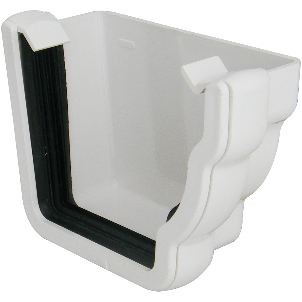 External Stopend Ogee Right Hand Chelmsford Plastic