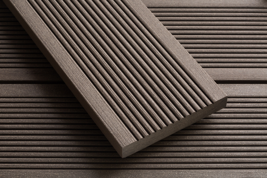 Smartboard Chocolate Brown Wood Plastic Composite Decking
